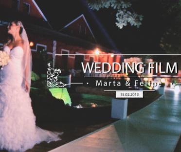 Wedding Film: Marta e Felipe